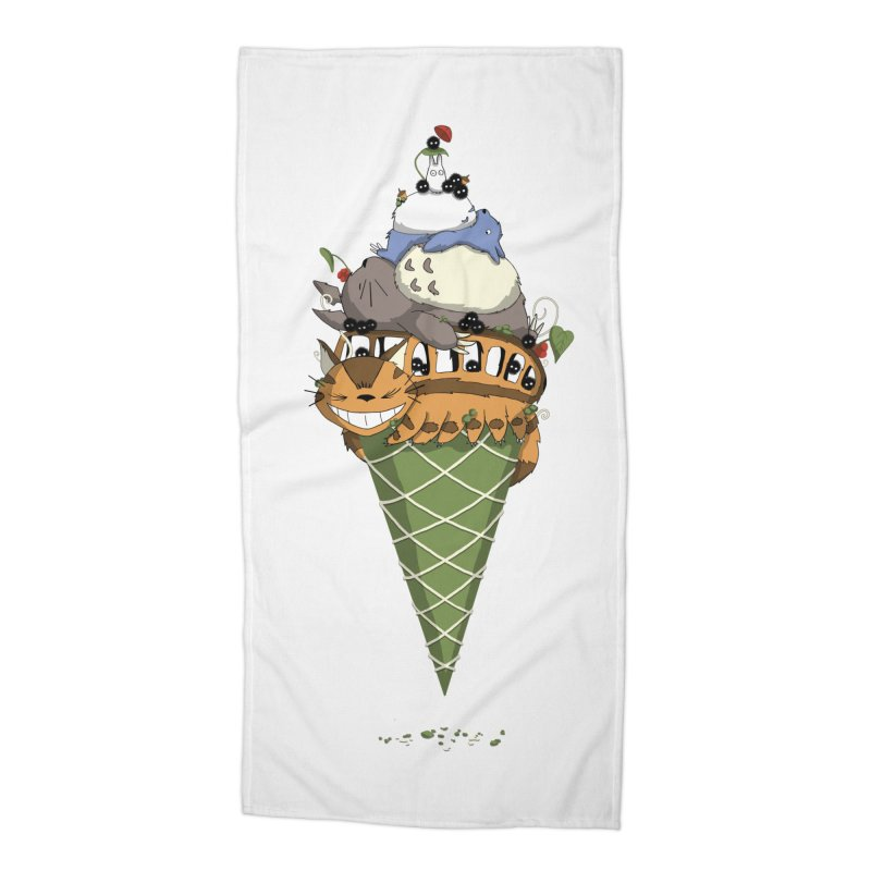 Matcha Forest Gelato Accessories Beach Towel by cherished