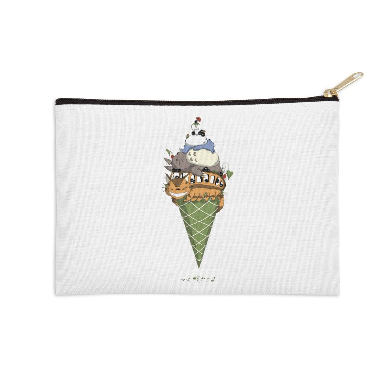 Matcha Forest Gelato Accessories Zip Pouch by cherished