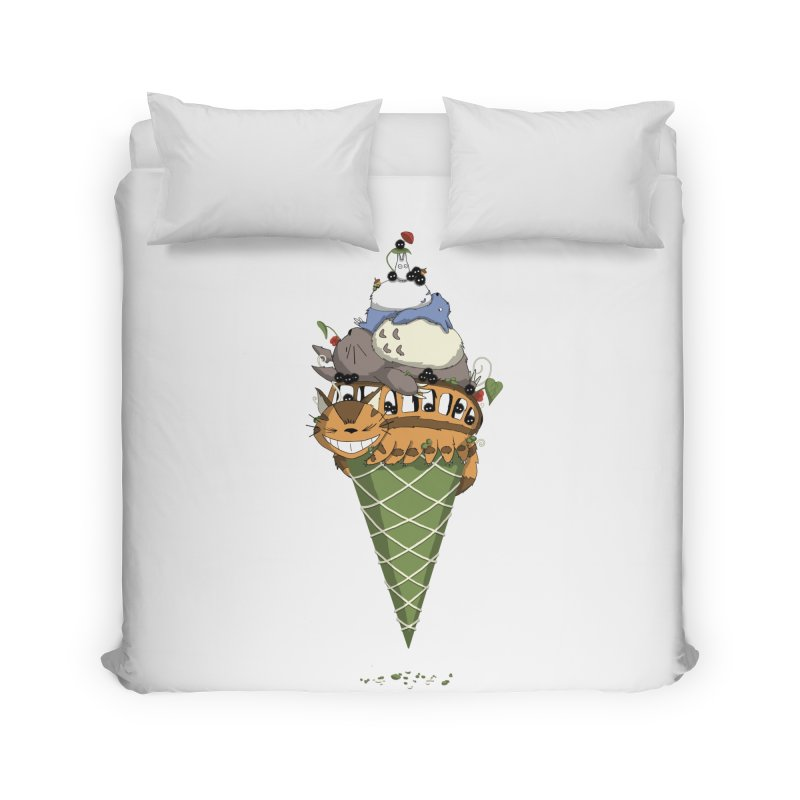 Matcha Forest Gelato Home Duvet by cherished