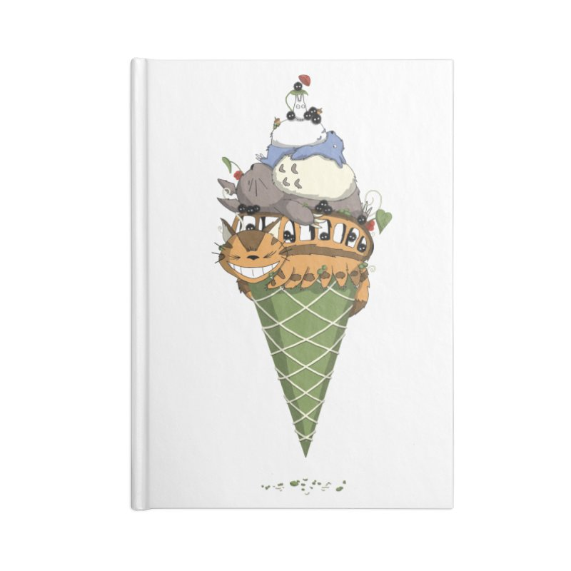 Matcha Forest Gelato Accessories Notebook by cherished