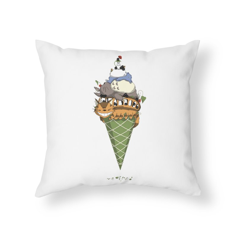 Matcha Forest Gelato Home Throw Pillow by cherished