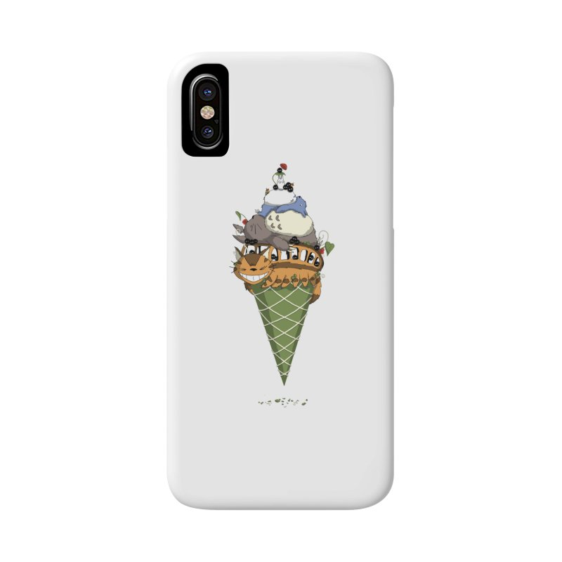 Matcha Forest Gelato Accessories Phone Case by cherished
