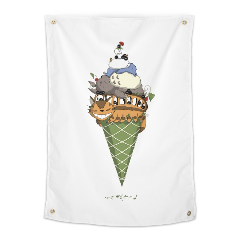 Matcha Forest Gelato Home Tapestry by cherished