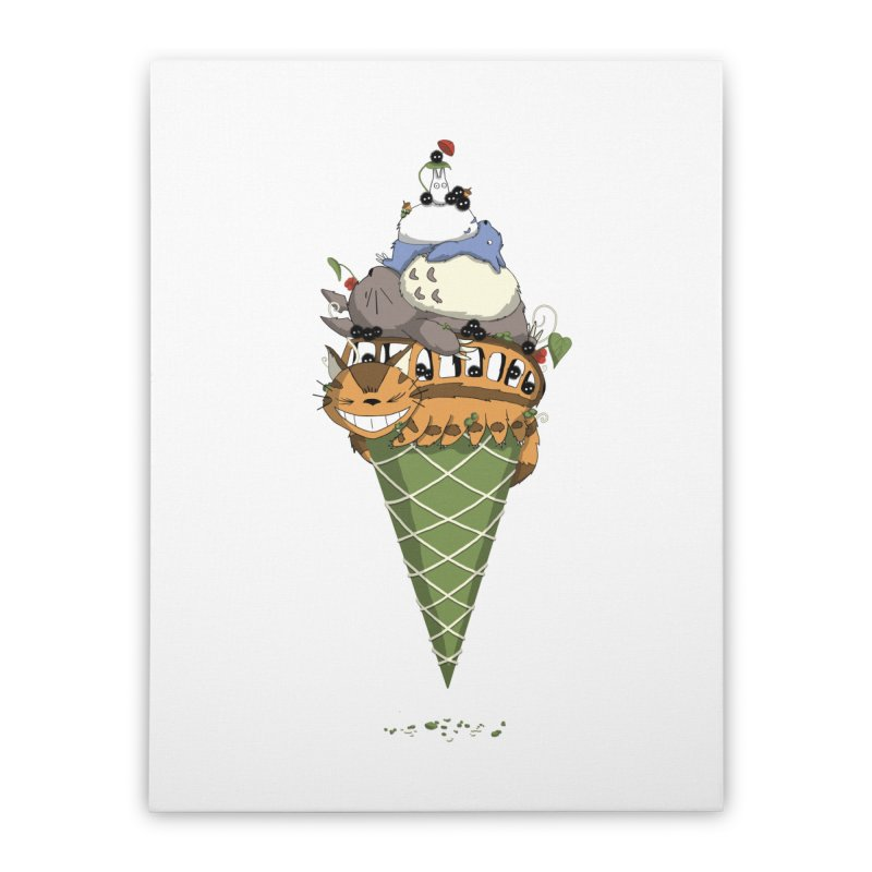 Matcha Forest Gelato Home Stretched Canvas by cherished