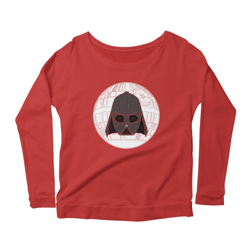 Phantom of the stars Women's Longsleeve Scoopneck  by cherished