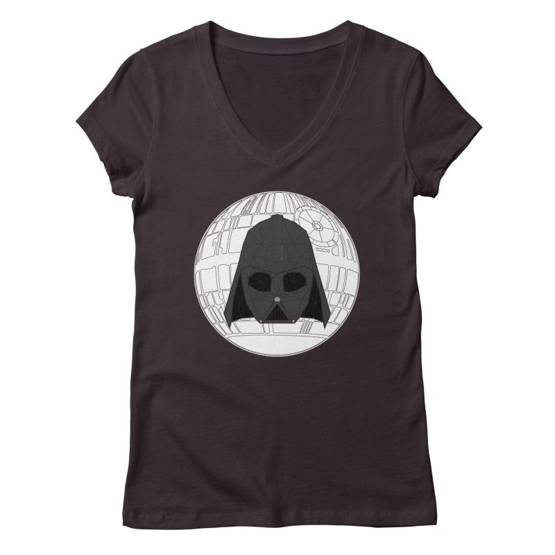 Phantom of the stars Women's V-Neck by cherished