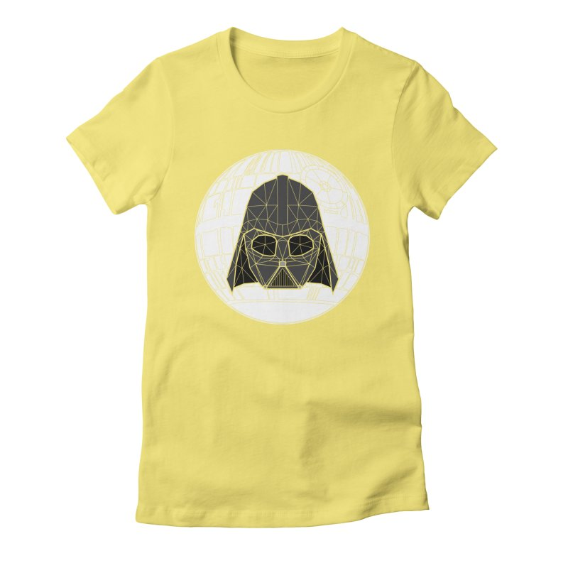 Phantom of the stars Women's Fitted T-Shirt by cherished
