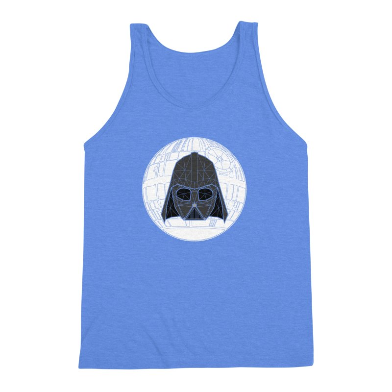 Phantom of the stars Men's Triblend Tank by cherished