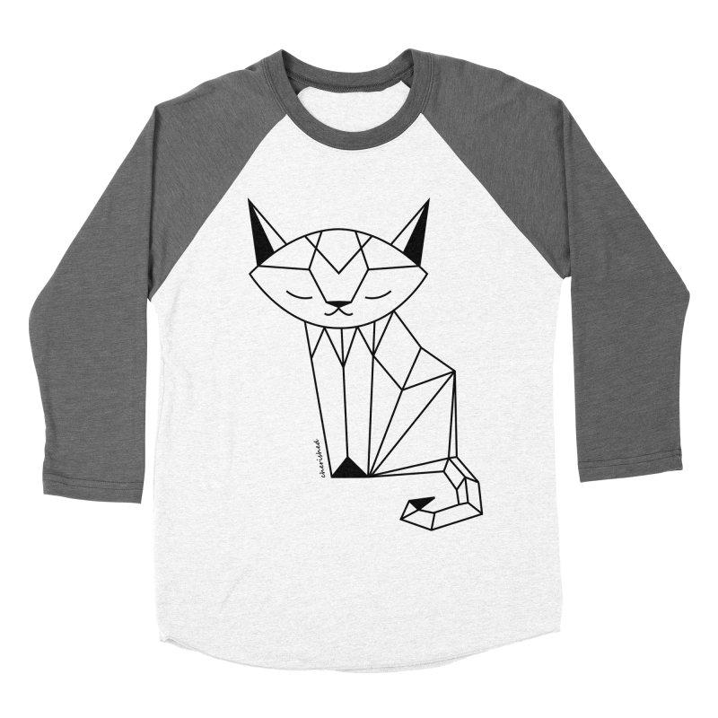 Cherish Cat Men's Baseball Triblend T-Shirt by cherished