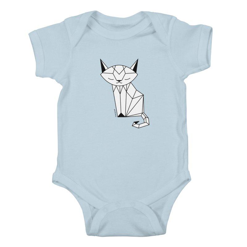 Cherish Cat Kids Baby Bodysuit by cherished