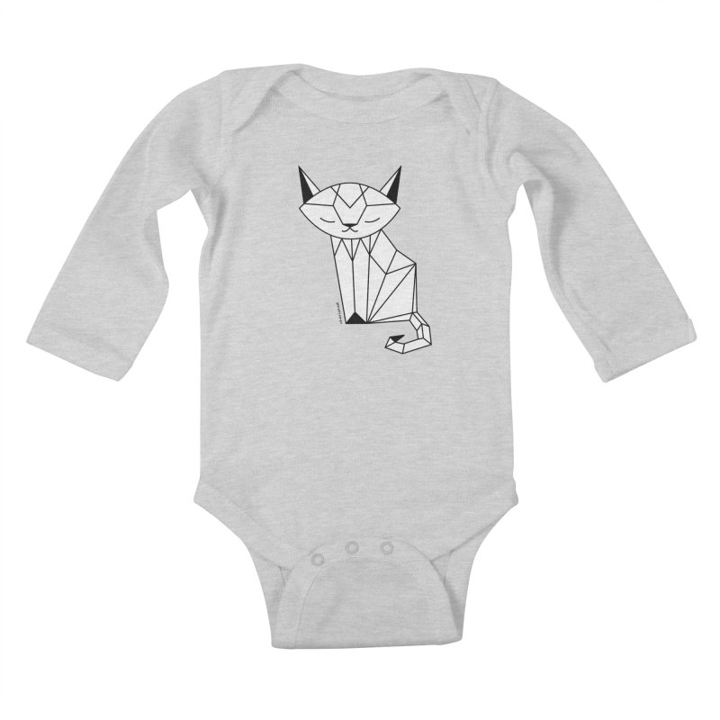 Cherish Cat Kids Baby Longsleeve Bodysuit by cherished