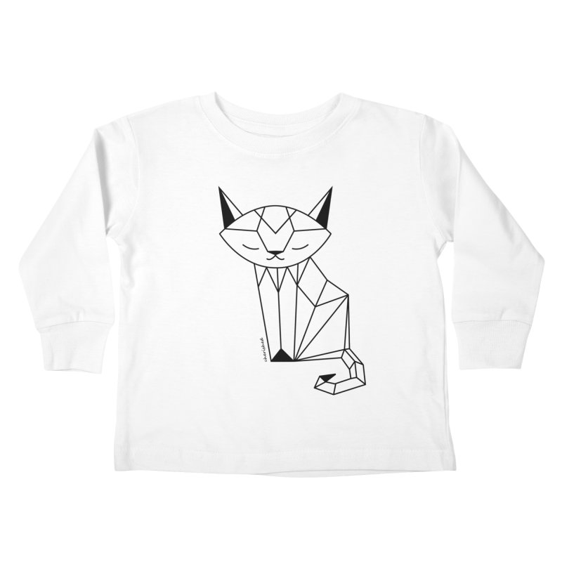 Cherish Cat Kids Toddler Longsleeve T-Shirt by cherished