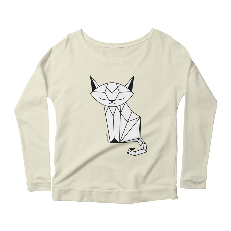 Cherish Cat Women's Longsleeve Scoopneck  by cherished