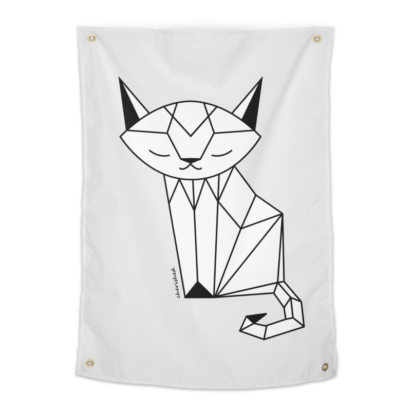 Cherish Cat Home Tapestry by cherished