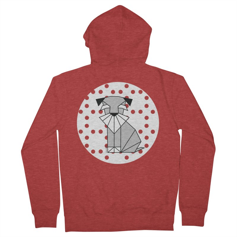 Spirited Schnauzer Women's Zip-Up Hoody by cherished