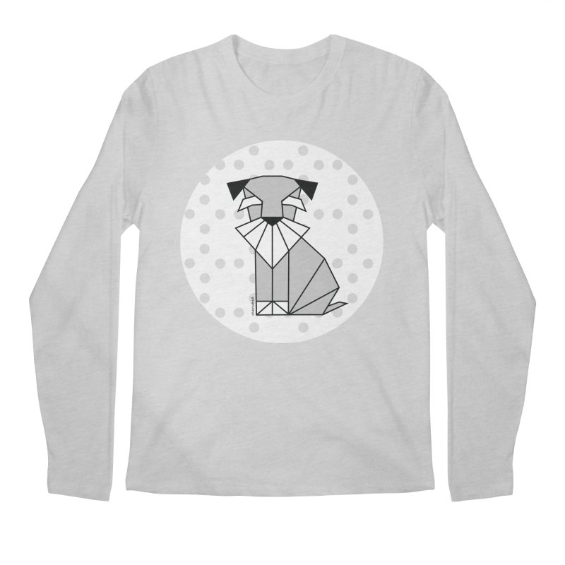 Spirited Schnauzer Men's Longsleeve T-Shirt by cherished
