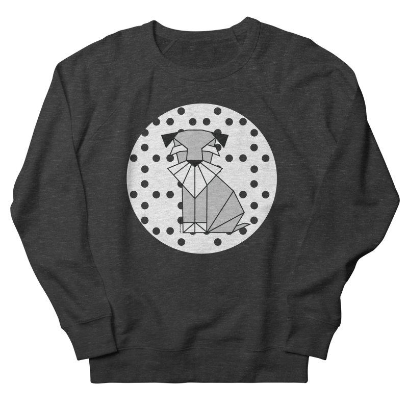 Spirited Schnauzer Men's Sweatshirt by cherished
