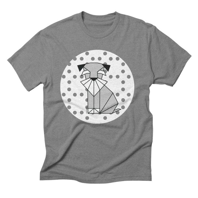 Spirited Schnauzer Men's Triblend T-Shirt by cherished