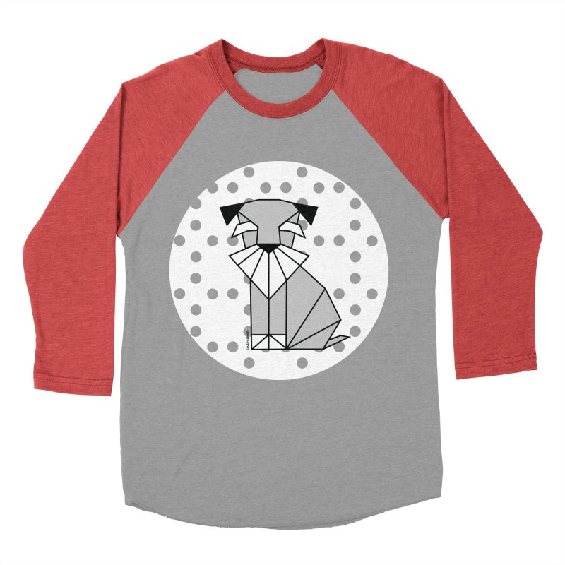 Spirited Schnauzer Women's Baseball Triblend T-Shirt by cherished