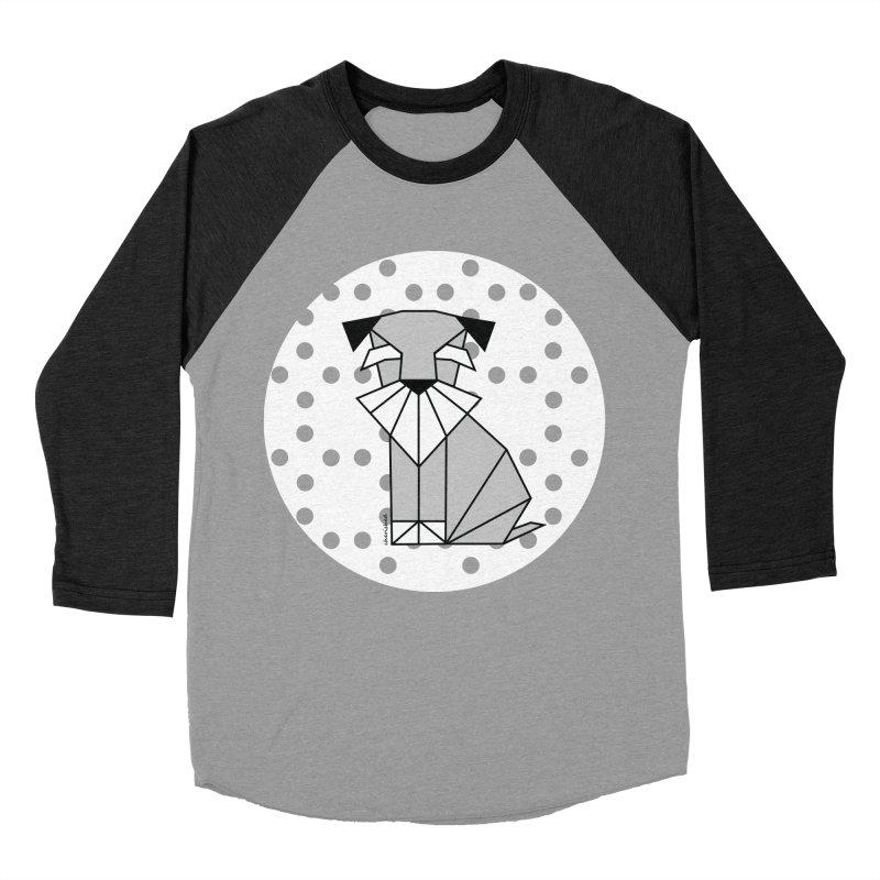 Spirited Schnauzer Women's Baseball Triblend T-Shirt by cherished