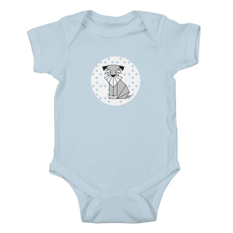 Spirited Schnauzer Kids Baby Bodysuit by cherished
