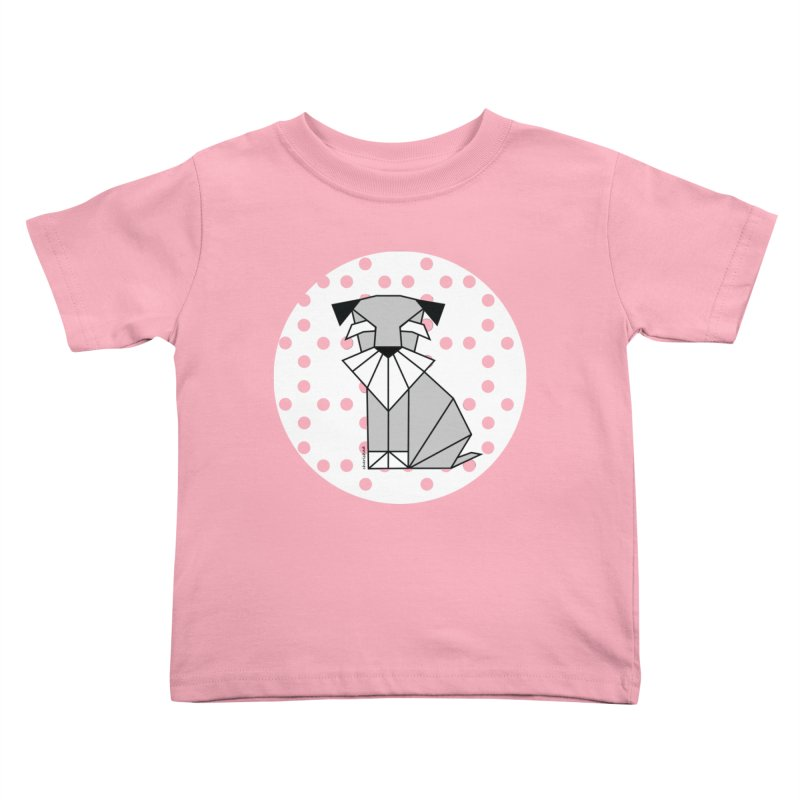 Spirited Schnauzer Kids Toddler T-Shirt by cherished