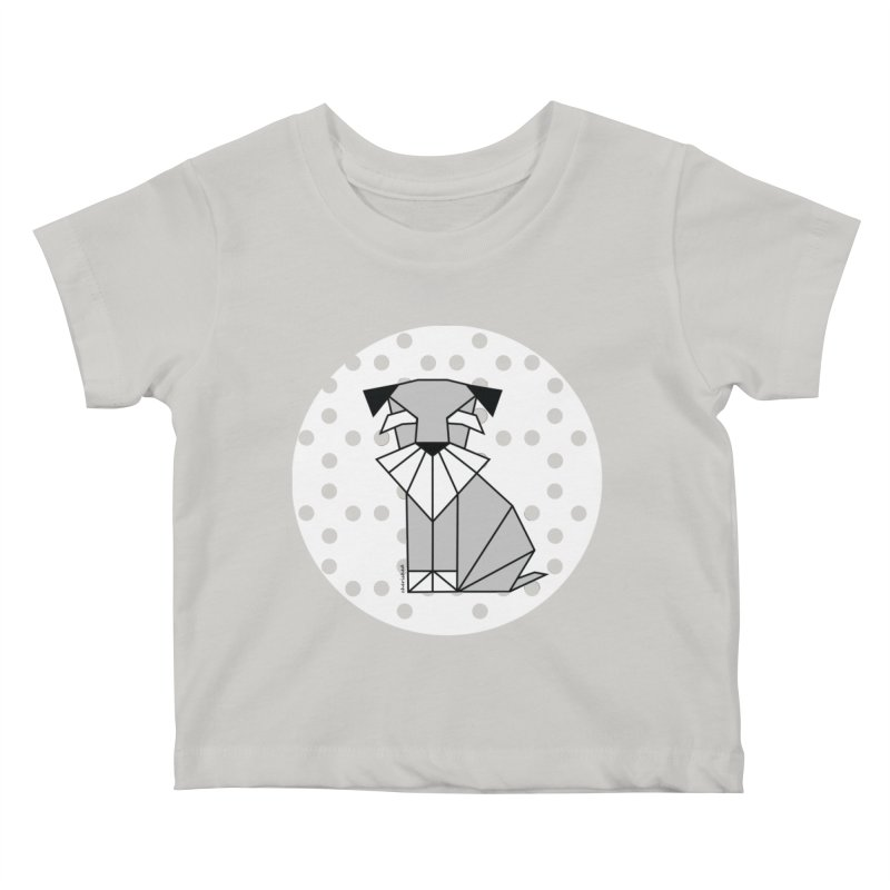 Spirited Schnauzer Kids Baby T-Shirt by cherished