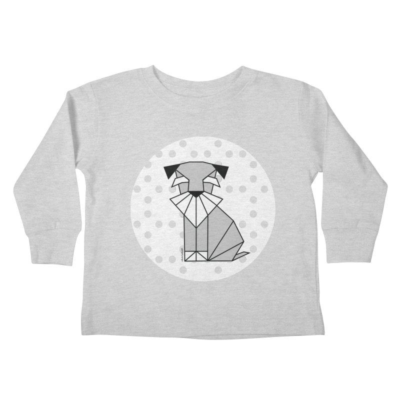 Spirited Schnauzer Kids Toddler Longsleeve T-Shirt by cherished