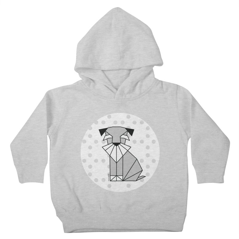 Spirited Schnauzer Kids Toddler Pullover Hoody by cherished