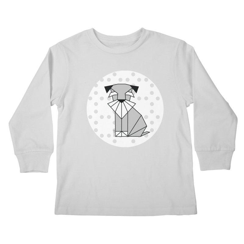 Spirited Schnauzer Kids Longsleeve T-Shirt by cherished