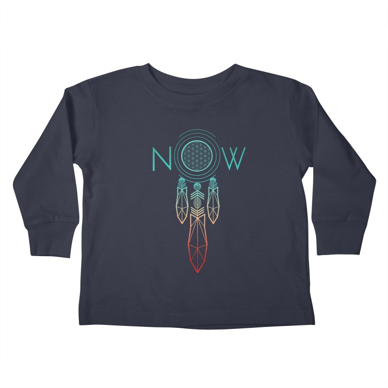 Catch Your Dreams Now Kids Toddler Longsleeve T-Shirt by cherished