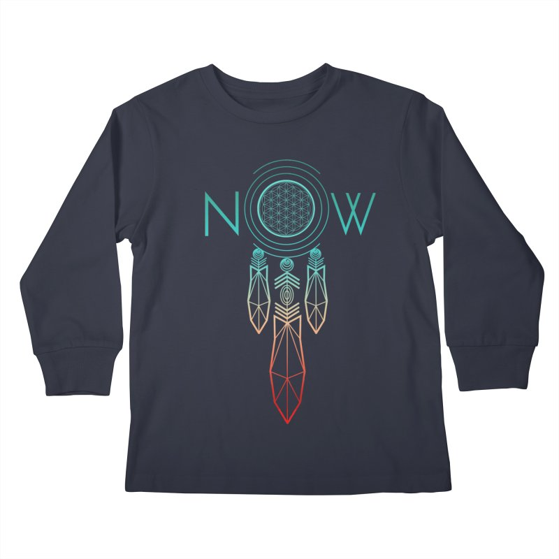Catch Your Dreams Now Kids Longsleeve T-Shirt by cherished