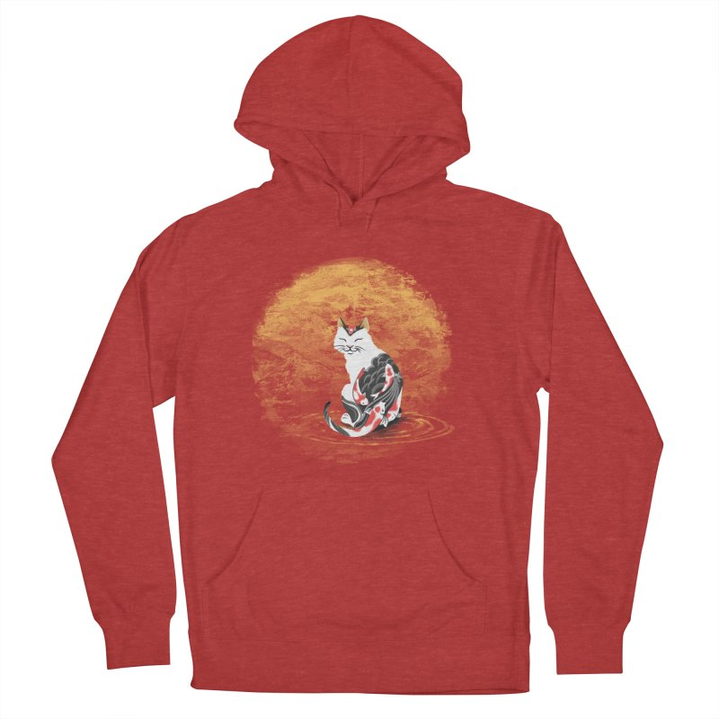 Yakuza Cat Women's Pullover Hoody by cherished