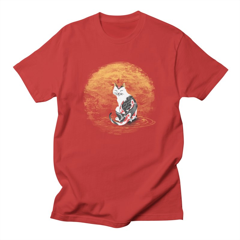 Yakuza Cat Men's T-shirt by cherished