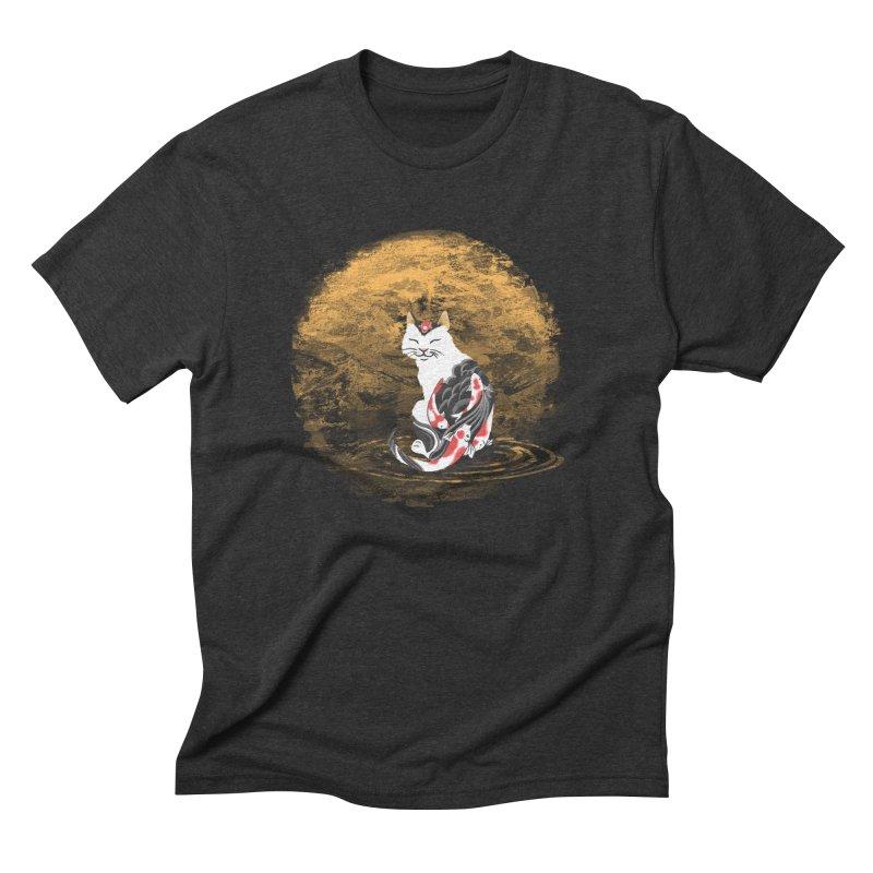 Yakuza Cat Men's Triblend T-Shirt by cherished