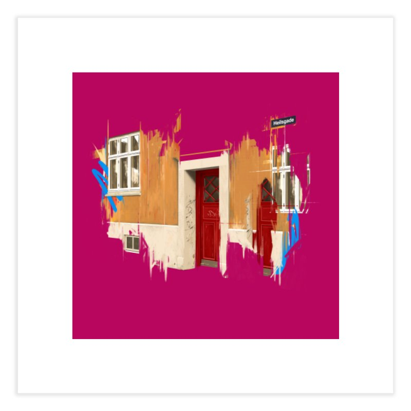 Doorway 03 Home Fine Art Print by Cherries' Shop