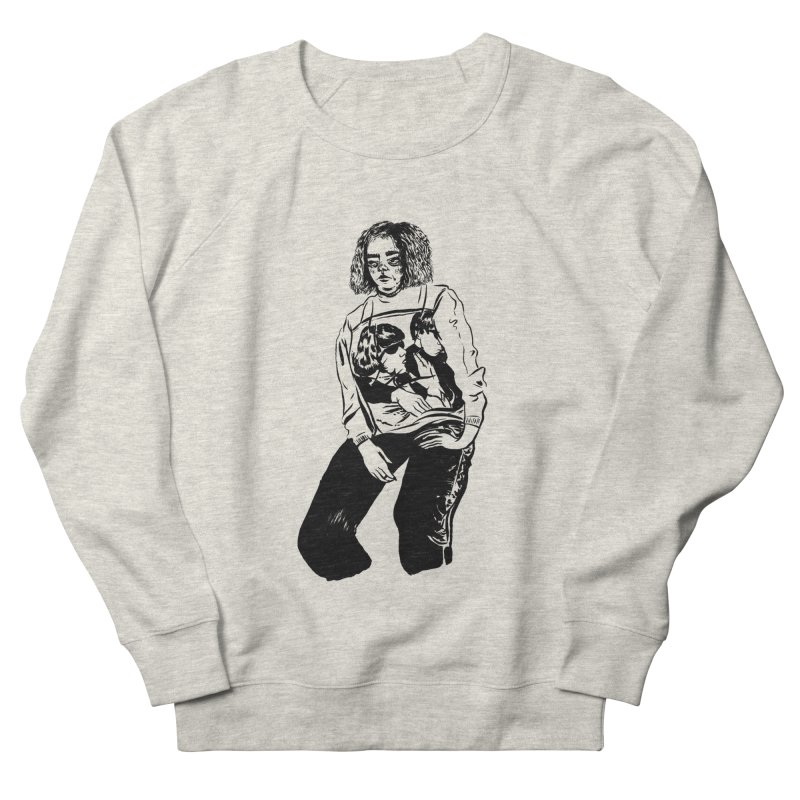 goo sweatshirt sweatshirt  in Men's French Terry Sweatshirt Heather Oatmeal by cherry kutti