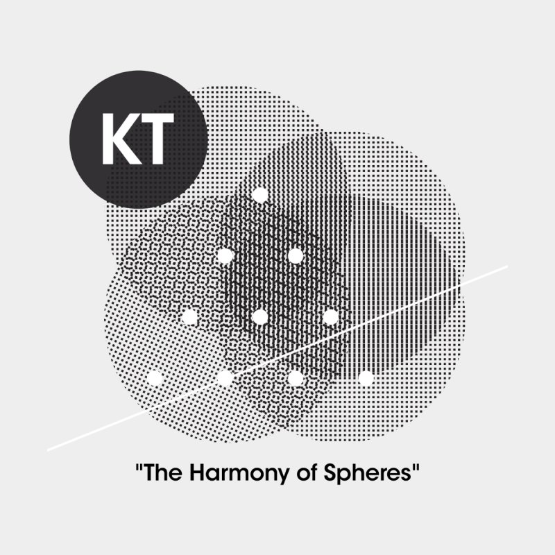 "KT ""The Harmony of Spheres"" (designed by Matt Klimas) by The Cherub Records Shop"