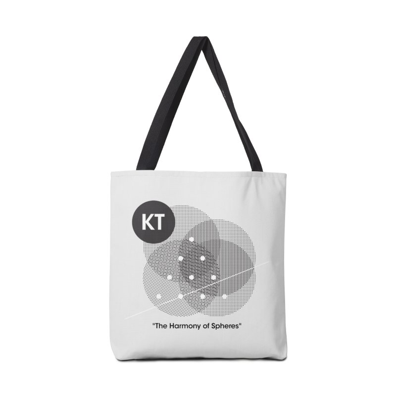 """KT """"The Harmony of Spheres"""" (designed by Matt Klimas) Accessories Tote Bag Bag by The Cherub Records Shop"""