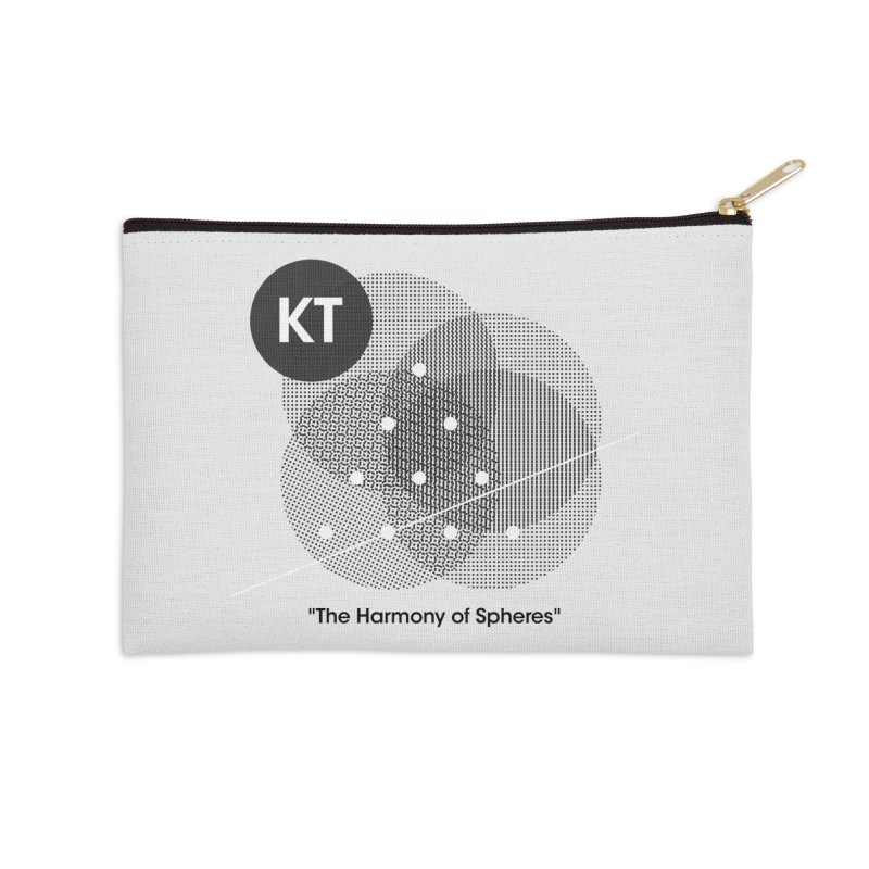 """KT """"The Harmony of Spheres"""" (designed by Matt Klimas) Accessories Zip Pouch by The Cherub Records Shop"""