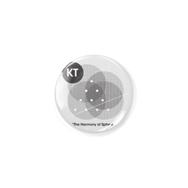 """KT """"The Harmony of Spheres"""" (designed by Matt Klimas) Accessories Button by The Cherub Records Shop"""