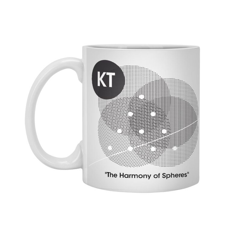 "KT ""The Harmony of Spheres"" (designed by Matt Klimas) Accessories Standard Mug by The Cherub Records Shop"