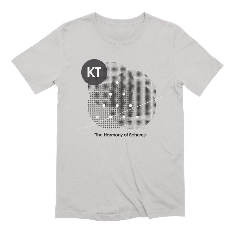 "KT ""The Harmony of Spheres"" (designed by Matt Klimas) Men's Extra Soft T-Shirt by The Cherub Records Shop"
