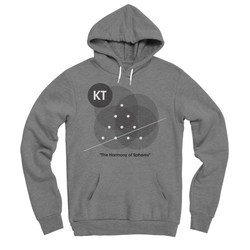 "KT ""The Harmony of Spheres"" (designed by Matt Klimas) Men's Sponge Fleece Pullover Hoody by The Cherub Records Shop"