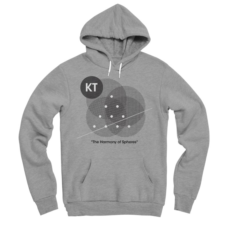 "KT ""The Harmony of Spheres"" (designed by Matt Klimas) Men's Sponge Fleece Pullover Hoody by The Cherub Records Shop"