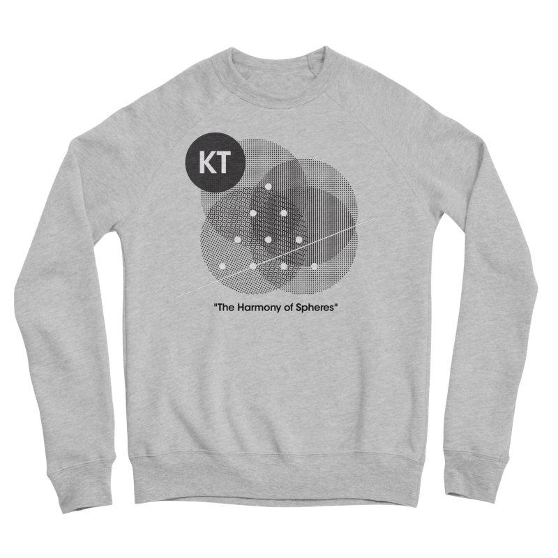 "KT ""The Harmony of Spheres"" (designed by Matt Klimas) Women's Sponge Fleece Sweatshirt by The Cherub Records Shop"