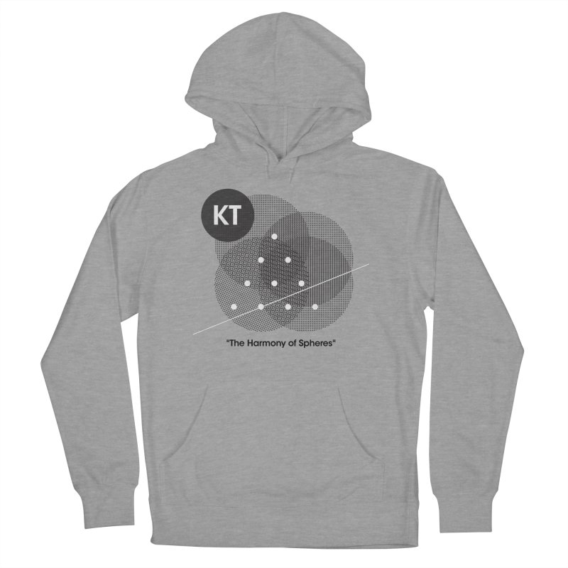 """KT """"The Harmony of Spheres"""" (designed by Matt Klimas) Women's French Terry Pullover Hoody by The Cherub Records Shop"""