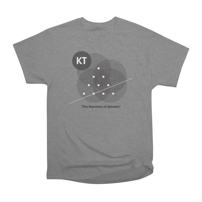 "KT ""The Harmony of Spheres"" (designed by Matt Klimas) Men's Heavyweight T-Shirt by The Cherub Records Shop"