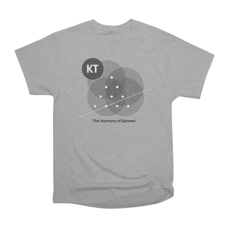 "KT ""The Harmony of Spheres"" (designed by Matt Klimas) Women's Heavyweight Unisex T-Shirt by The Cherub Records Shop"