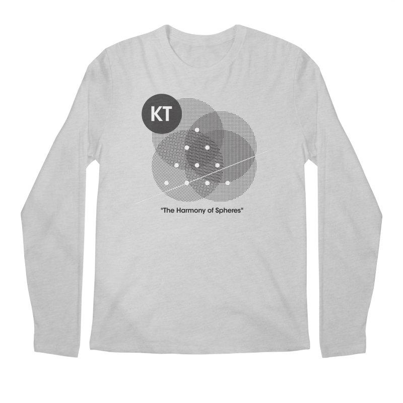 "KT ""The Harmony of Spheres"" (designed by Matt Klimas) Men's Regular Longsleeve T-Shirt by The Cherub Records Shop"